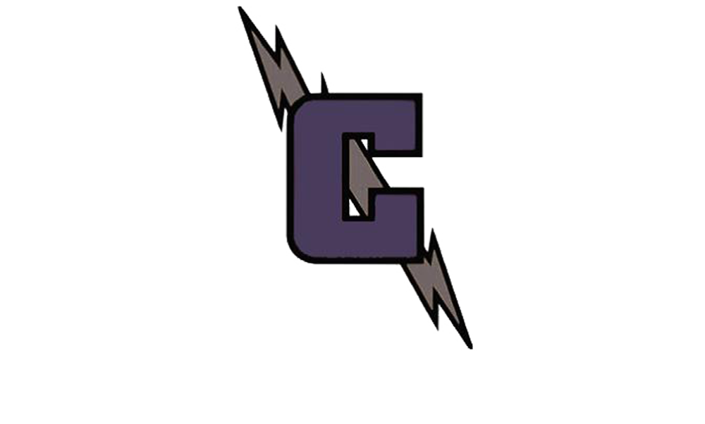 "Crossroads Logo Image of a Purple Capital ""C"" and a lightening bolt"